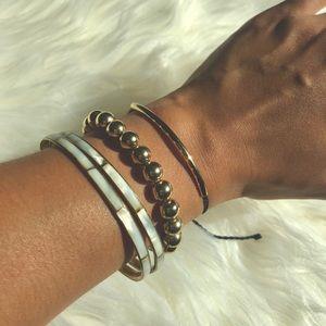 🆕 Pura Vida Gold Bracelet Set